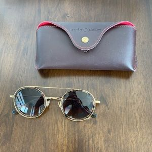 Etnia Barcelona round sunglasses